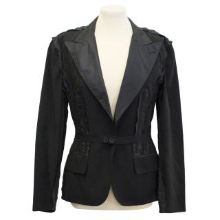 Jean Paul Gaultier black tailored jacket