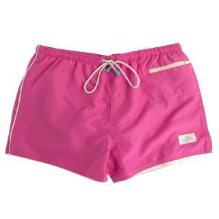 Oiler & Boiler pink swim shorts