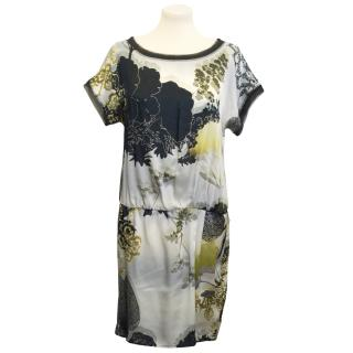 Marc Cain printed silk dress