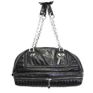 Luella black leather handbag