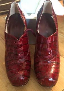 Vivienne Westwood cocco chianti platform shoes