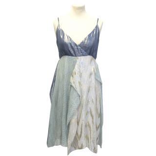 Gryphon iridescent scarf dress