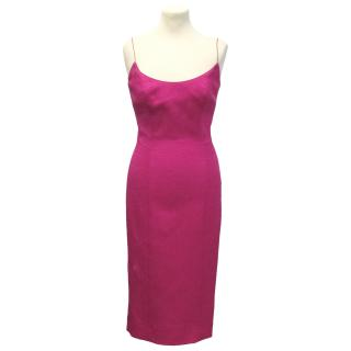 L'Wren Scott fuschia dress