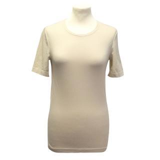 Wolford beige t-shirt