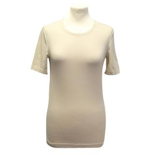 Wolford beige t-shirt