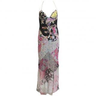 Emanuel Ungaro silk evening dress