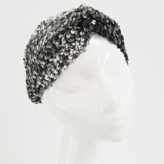 Untamed Petals sequin head band