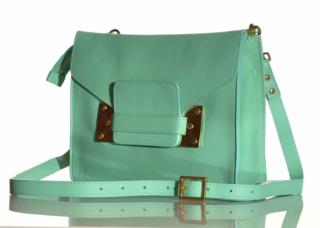 NWT SOPHIE HULME mint green  mini envelope bag