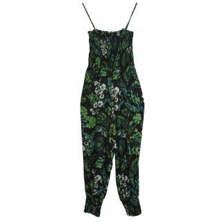 Nieves Lavi green jumpsuit