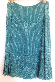 BLUMARINE beaded skirt