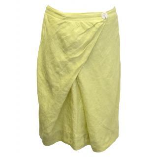 Betty Jackson yellow skirt