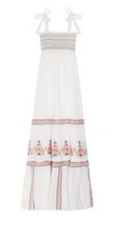 ALICE by Temperley, long bandeau dress