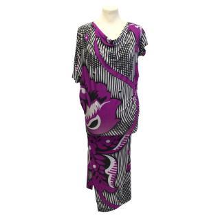 Vivienne Westwood pink patterned dress