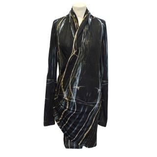 Aminaka Wilmont abstract patterned dress