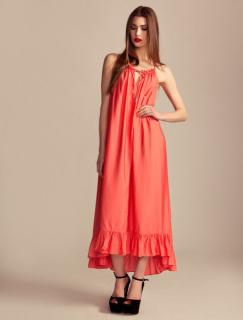 Alice by Temperley coral maxi dress