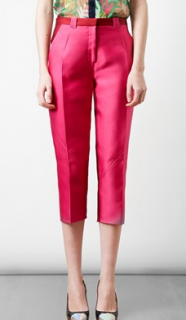 Ostwald Helgason pink cropped trousers