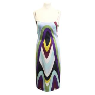 Emilio Pucci silk patterned dress