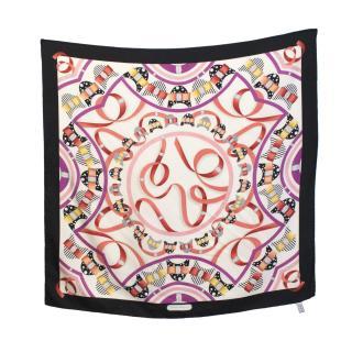 Salvatore Ferragamo silk print scarf