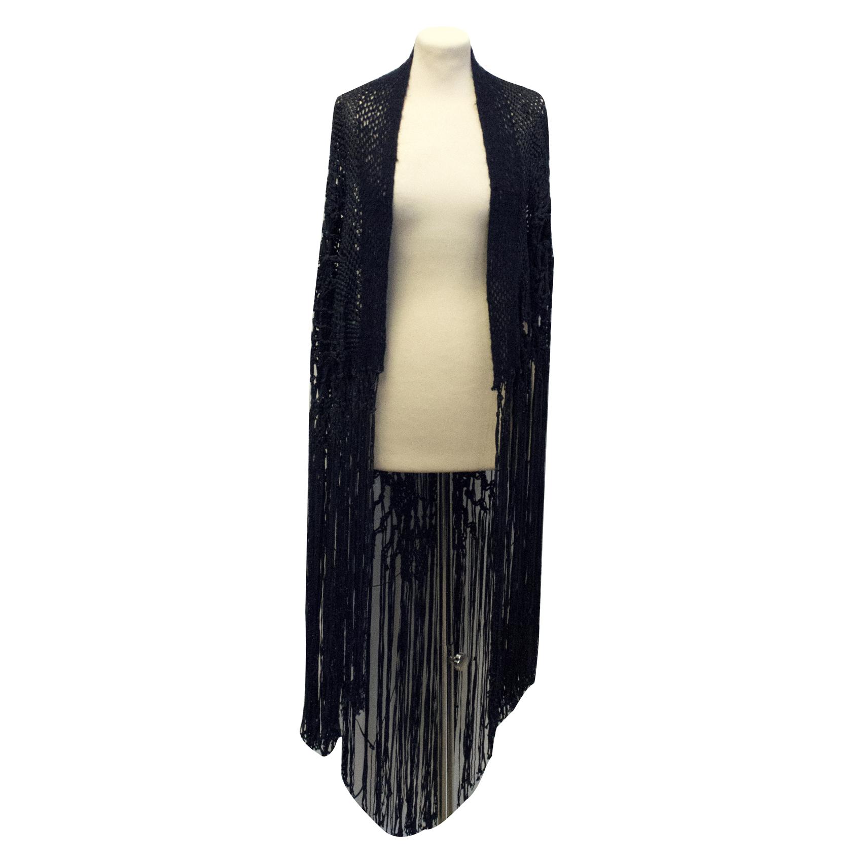 Munthe plus Simonsen Deep navy shawl