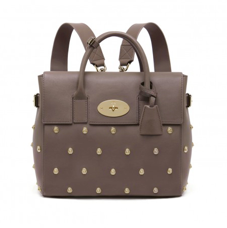 e478f9e5ec Mulberry Cara Delevingne Bag With Lion Rivets Unique