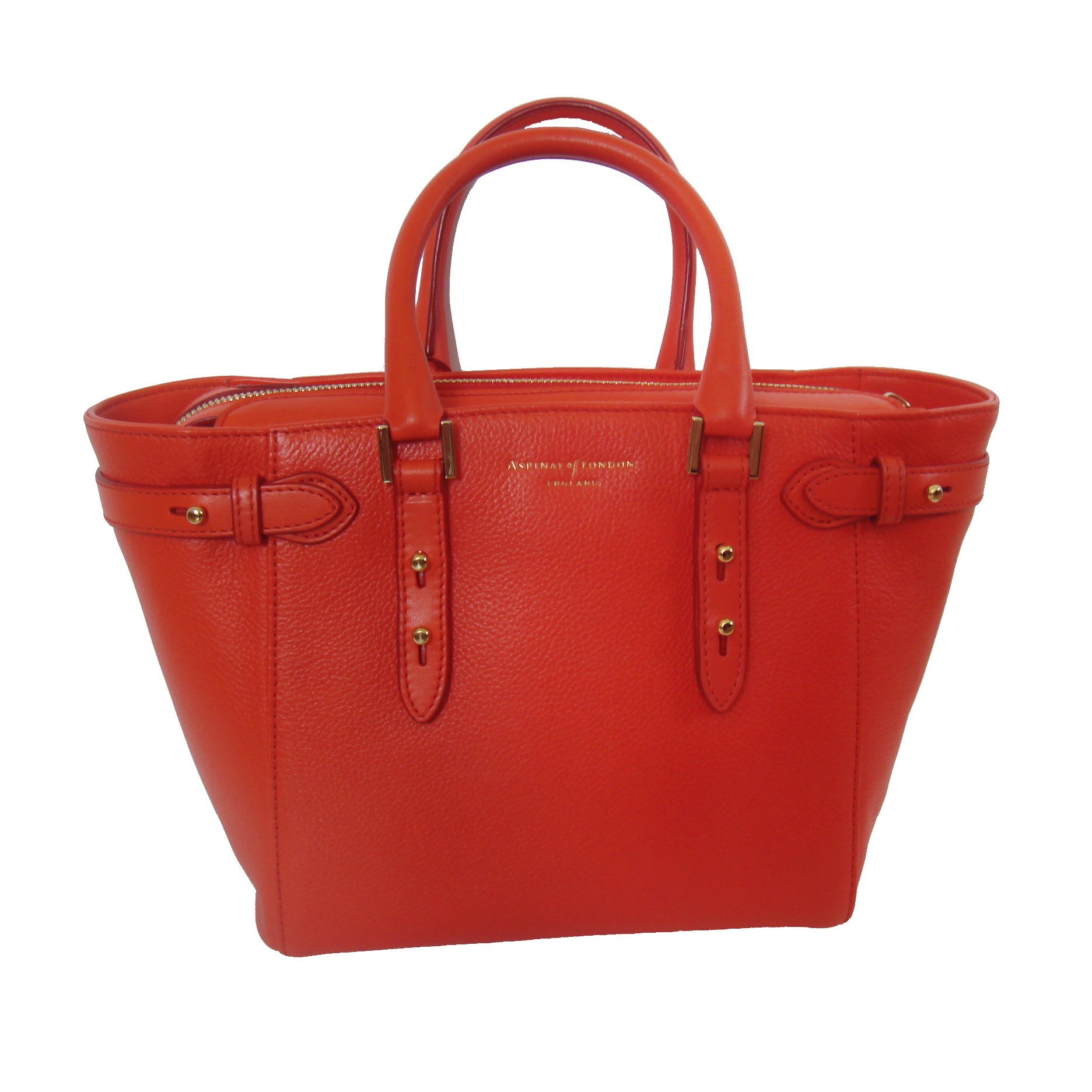 df7144e262 Aspinal London Marylebone Small Tote In Poppy