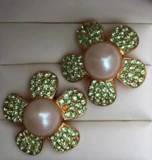 Escada ''Daisy'' Couture  Earrings