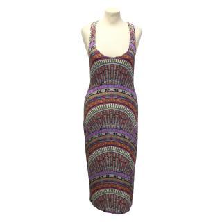 Mara Hoffman print jersey dress