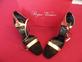 Roger Vivier stylish high heels shoes size 5