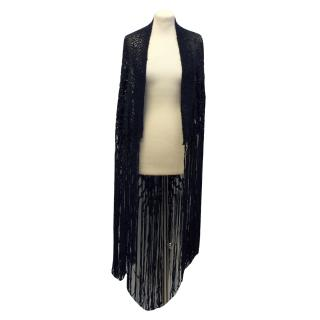 Munthe plus Simonsen Deep navy shawl