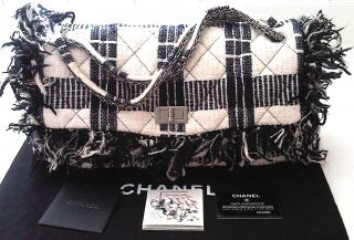 NEW with all cards CHANEL tweed Collector bag