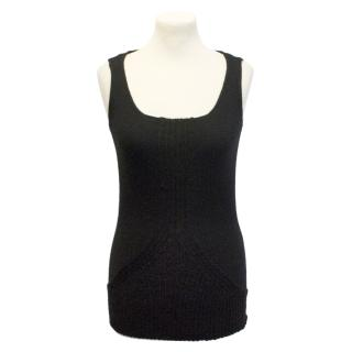 Atsuro Tayama black knitted top