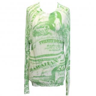 Acne dollar print top