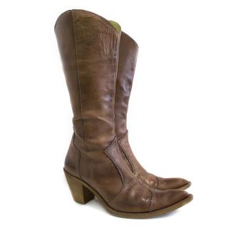 Mirage cowboy brown boots