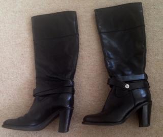 Furla black boots