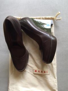 Marni wedge high shoe