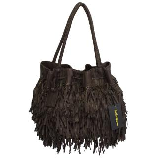 Catherine Malandrino Brown fringe bag