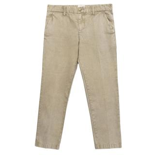 Laurence Dolige stone washed trousers