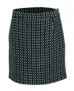 Costume National Black Woollen Skirt