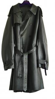 Ralph Lauren Purple Label leather coat New