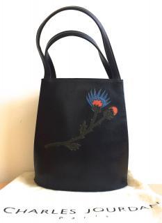 Charles Jourdan Paris black bag