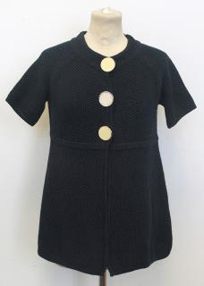 Goat Library knitted navy cardigan