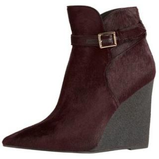 Burberry Prorsum calfskin pointed wedged ankle boots