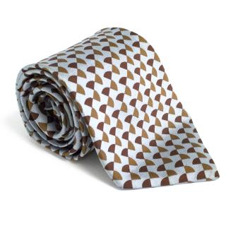 Jasper Conran duck egg blue and brown tie