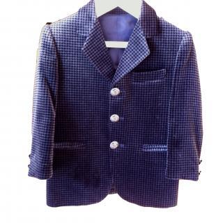 Malip Italian Velvet Jacket 2 Years - Excellent Condition