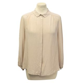 Alexa Chung for Madewell silk shirt
