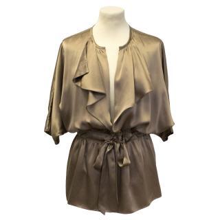 Single silk blouse
