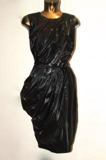 MALENE BIRGER 'wet look' dress, size 38