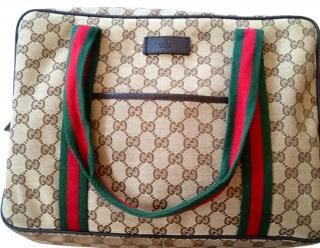 Gucci holdall travel bag