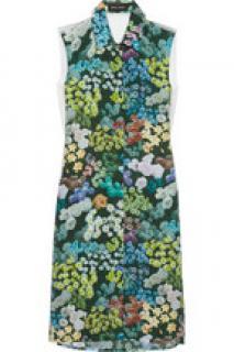 Sophie Hulme Floral-print silk dress (RRP 320)