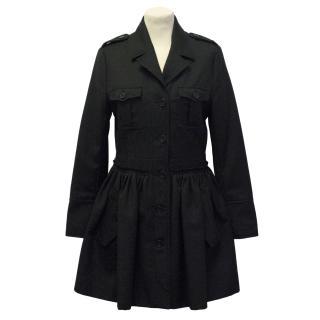 Rutzou black coat